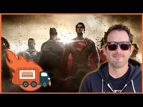 Can DC Films' New Boss Make Good? w/Geoff Ramsey - The Kinda Funny Morning Show 01.05.18