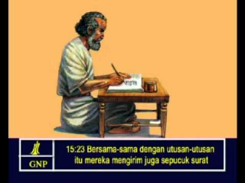 Acts 15 Indonesia Picture Bible