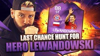 Last chance HUNT for HERO LEWANDOWSKI in a pack - FIFA 16 Ultimate Team