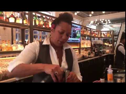 Chai Rum 'G6 Jet Cocktail' - Bluewater Grill, Union Square,  Manhattan.