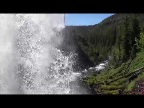 Beyond Tumalo Falls In Oregon.