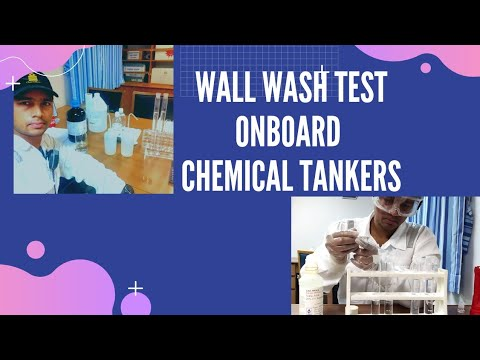 Video tel Wall wash onboard Chemical Tankers - Tank cleaning & Tank inspection