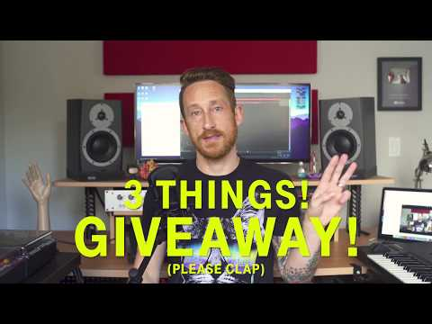 Hey Hey Giveaway (Native Instruments, Artiphon, Accusonus)