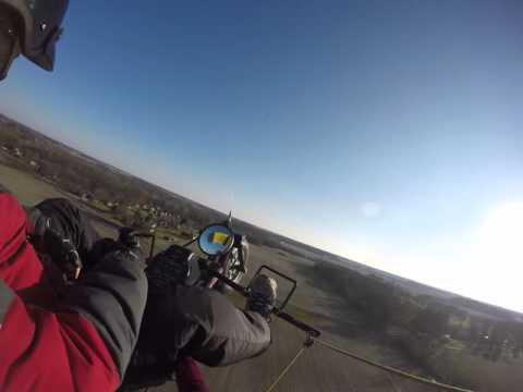Powered Parachute - MQJ local flight 2-6-16