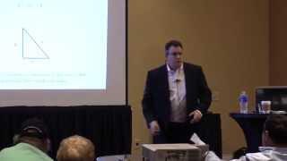 Ralph Vince Presenting at the TradeShark Power User Seminar