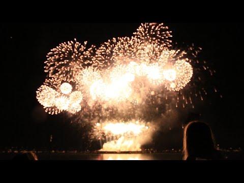 Vancouver Celebration of Light Fireworks (Australia) in 360!!  July 27, 2016