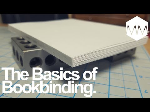 ▲ How to Perfect Bind a Notebook // Bookbinding Basics ep. 13