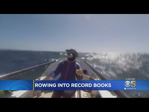Bay Area Woman Makes Solo Row From SF To Hawaii