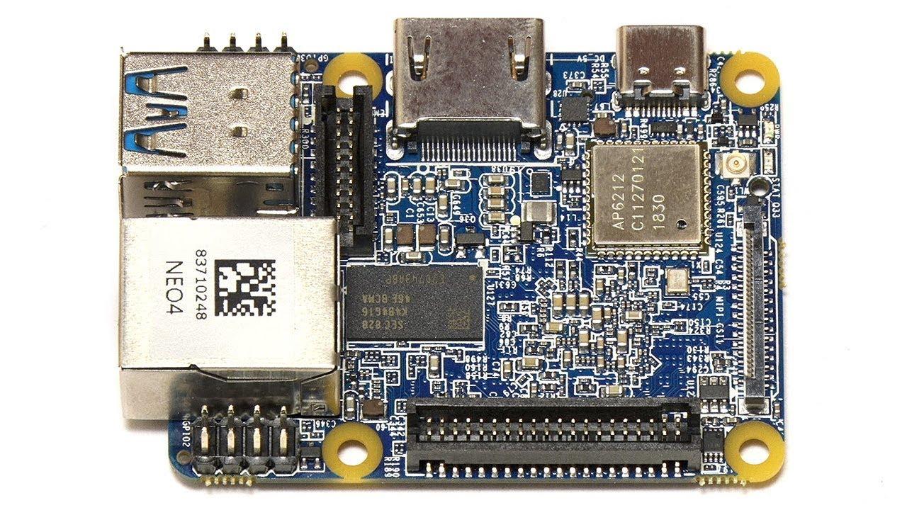 NanoPi NEO4: Tiny RK3399 SBC 16