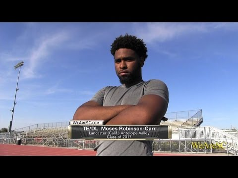 Moses Robinson-Carr spring practice highlights