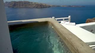 Relax at your private plunge pool at Esperas Santorini Hotel