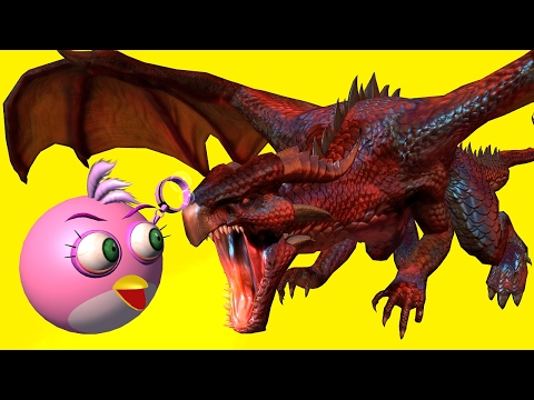 angry-birds-vs-dragons---part2-♫-3d-animated-dragon-mashup-☺-funvideotv---style-;-))