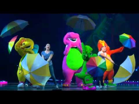 If All the Raindrops - Barney Live in Concert
