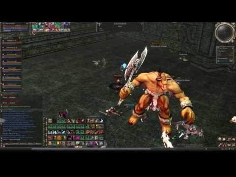 Lineage 2 Rpg-club High Five Titan PK Movie