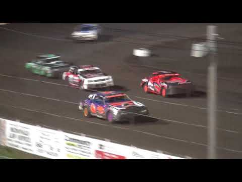 IMCA Stock Car feature Lee County Speedway 6/23/18