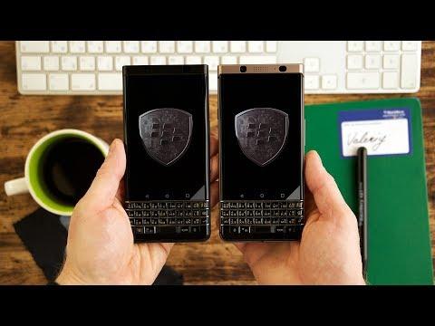 Все смартфоны BlackBerry KEYone с официальной русской клавиатурой