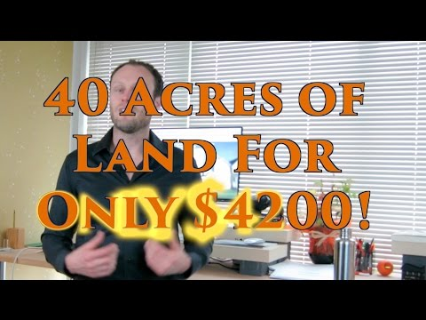 Washington Sale Tips, Re Sales & 40 Acres for $4,200