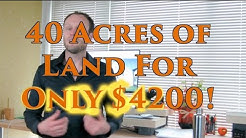 Washington Sale Tips, Re Sales & 40 Acres for $4,200