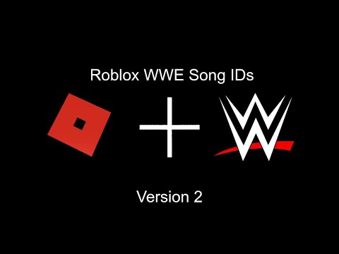 Roblox Wwe Song Codes 2 Youtube