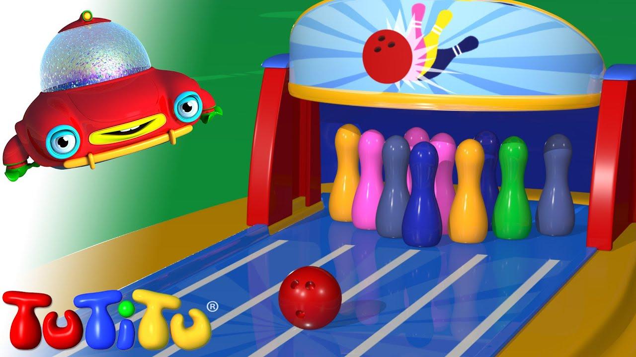 Brinquedos tutitu boliche youtube for Piscina de bolas toysrus