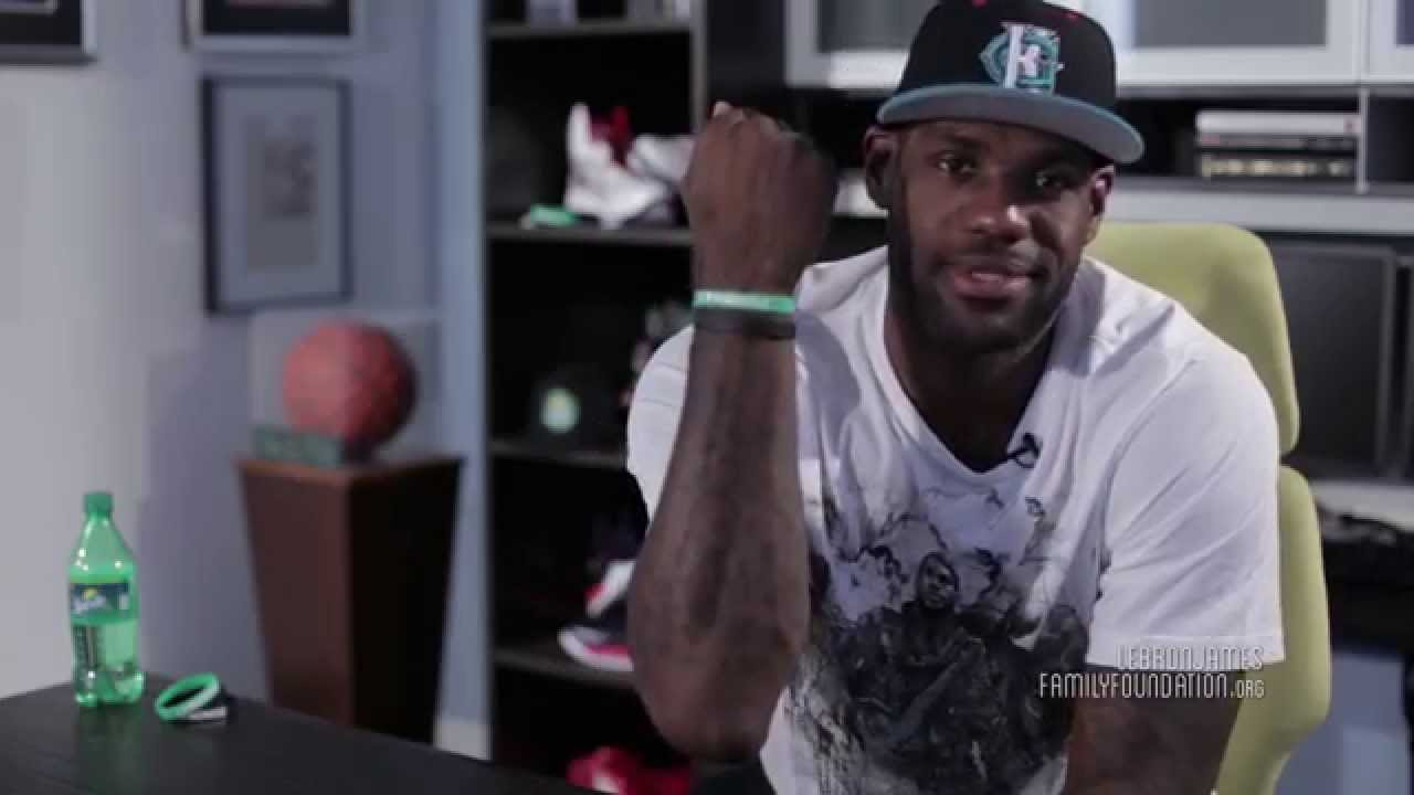 Our Story Lebron S I Promise Bands Youtube
