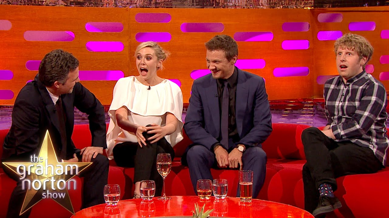 Mark Ruffalo Insults Josh Widdicombe - The Graham Norton ...