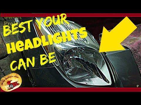 HOW TO Ceramic/Nano Coat Headlights & Plastic!