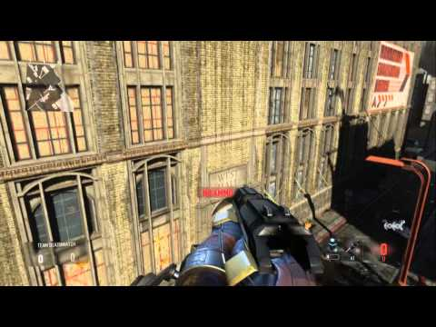 Call Of Duty Advanced Warfare - GLITCHES - OUT OF MAP -
