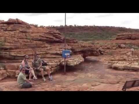Ligaya and Jan's Bushwalking in Kings Canyon