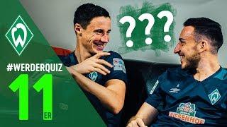 #WERDERQUIZ 11er - Kevin Möhwald & Marco Friedl   SV Werder Bremen