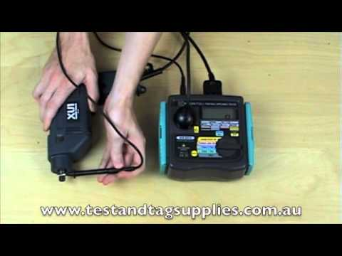 Kyoritsu 6201A portable appliance tester review by Test and Tag Supplies