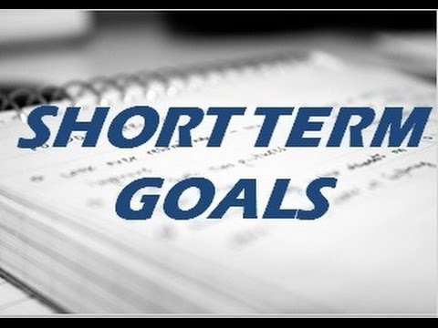Examples of Short Term Fitness Goals