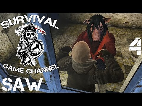 Saw: The Video Game Прохождение На Русском #4 — ПОЛОСА ЛОВУШЕК