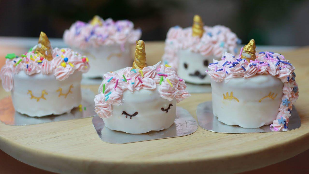 EP09 Mini Unicorn Cake เค้กยูนิคอร์น เค้กจิ๋วยูนิคอร์น
