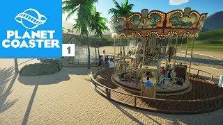 CONSTRUINDO A ESTAÇÃO DE TREM | Planet Coaster #35