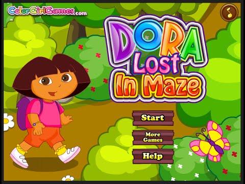 Dora The Explorer Games Dora The Explorer Maze Game
