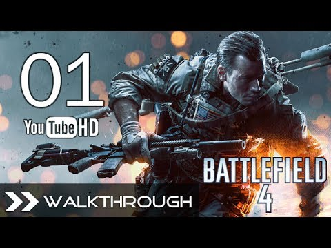 Battlefield 4 Walkthrough Gameplay BF4 Campaign - Part 1 (Mission 1 - Baku) HD 1080p No Commentary