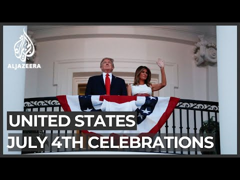 Trump in campaign mode at White House's Independence Day event