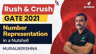 Number Representation | GATE CS 2021 | Murali Krishna Sir | Gradeup