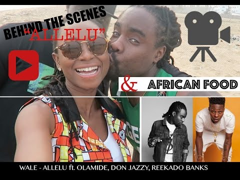 WALE - ALLELU ft. OLAMIDE, DON JAZZY, REEKADO BANKS | BEHIND THE SCENES | VLOG #8  | DEMI O.