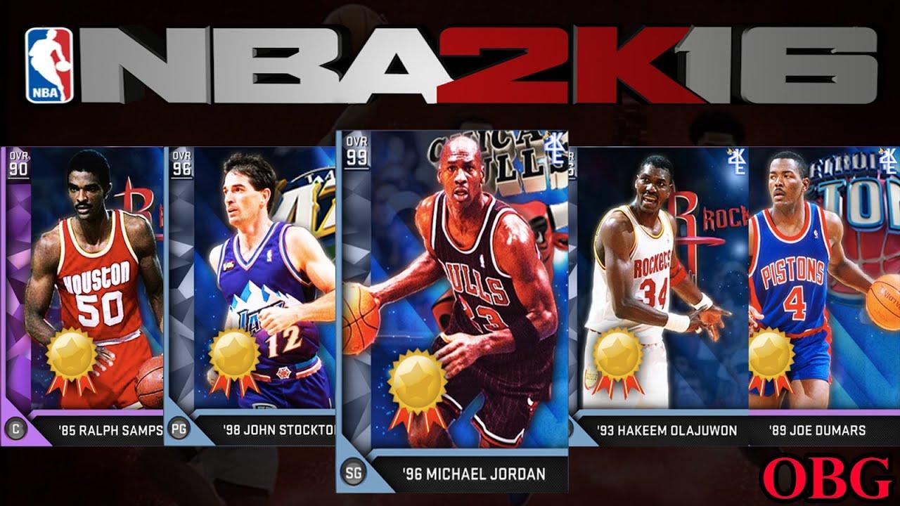 NBA2K16 MyTeam:... Lebron 9 What The Mvp
