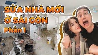 Đập toàn bộ sửa lại nhà tại Sài Gòn Phần 1