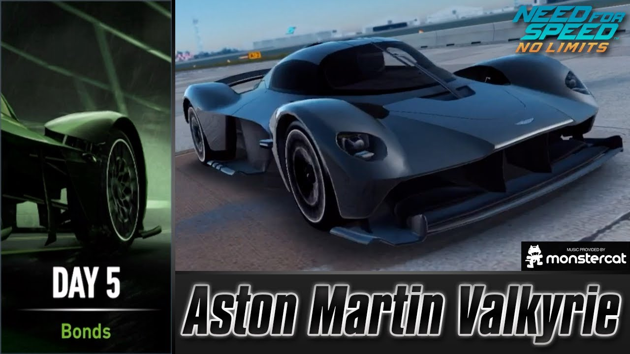 Need For Speed No Limits Aston Martin Valkyrie Underworld Supremacy Day 5 Bonds Youtube
