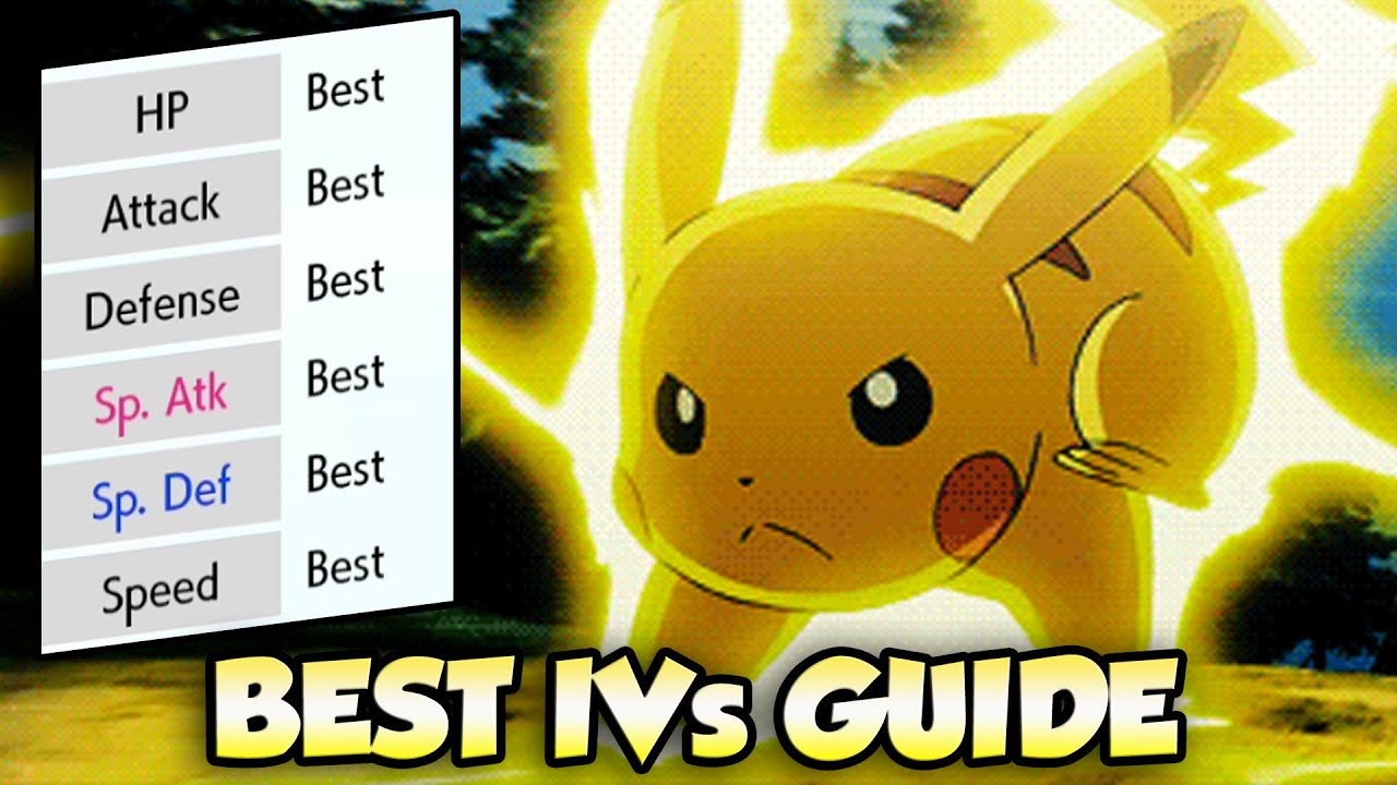 How To Get The BEST IVs For Pokemon in Pokemon Sword and Shield | Hyper  Training Guide - YouTube