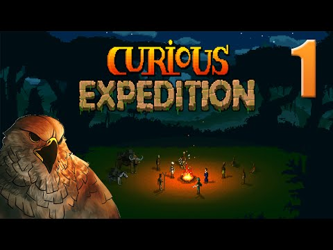 Let's Play The Curious Expedition - Gameplay - Falcon Law - Ep 1 (Alpha 10)