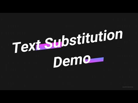 Advance C Concepts - Text Substitution Part3