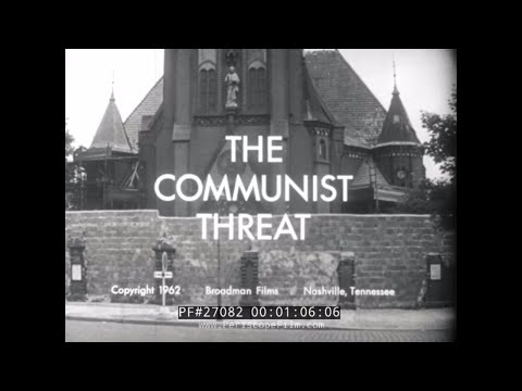 "COLD WAR PROPAGANDA FILM "" The Communist Threat "" with MICHAEL CRAMER 27082"