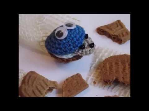 Häkeln Krümelmonster Muffin Häkelanleitung Youtube