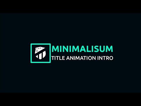 Create a Minimal Intro in Mobile   Kinemaster Tutorials   Free Intro
