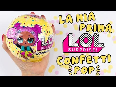 LA MIA PRIMA LOL Surprise CONFETTI POP! FINALMENTE INIZIO LA SERIE 3!!